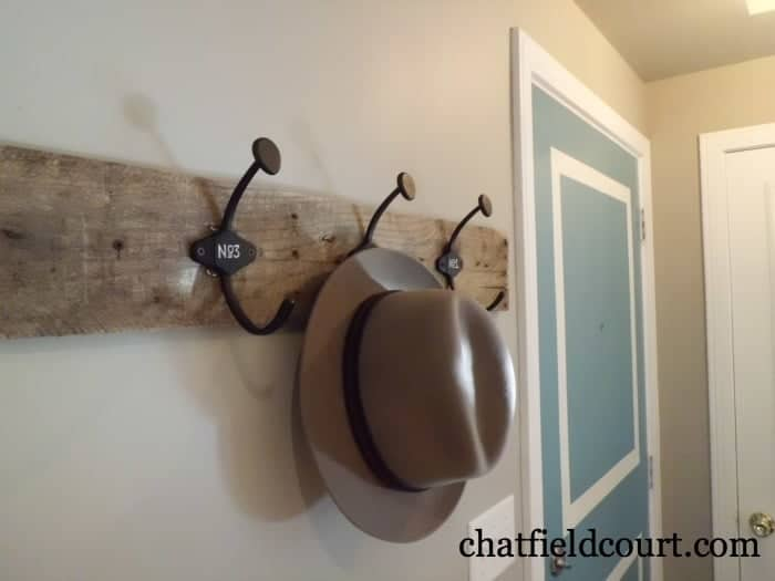 Entryway Coat Hooks | chatfieldcourt.com