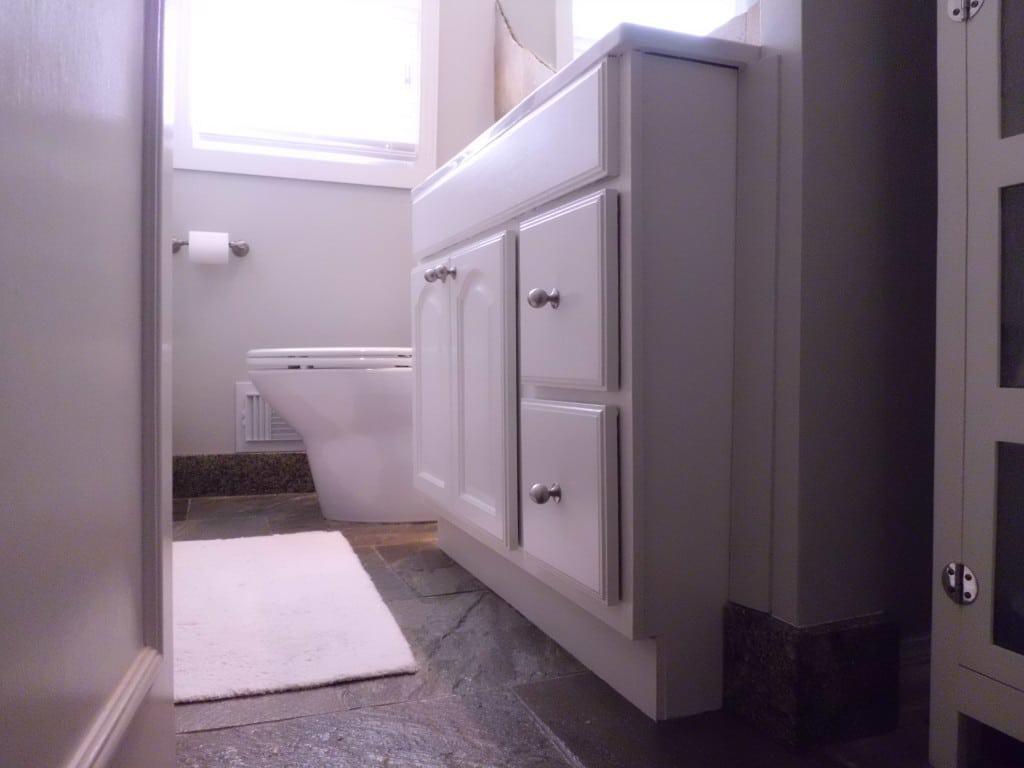 Painting My Bathroom Vanity   Chatfield Court.com