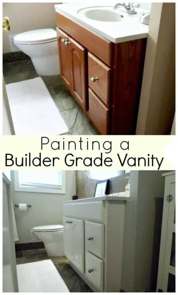 Painting My Bathroom Vanity | Chatfield Court.com