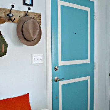 painted front interior door