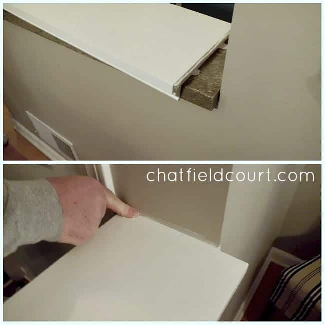 Capping a Knee Wall | chatfieldcourt.com