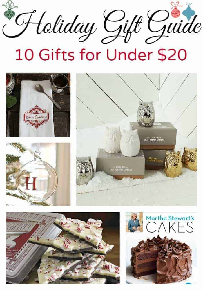Holiday gift guide, 10 gifts to give for under $20. | chatfieldcourt.com