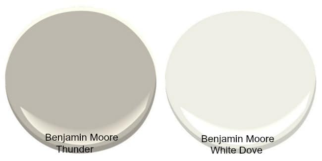 Thunder grey benjamin moore gray huskie exterior paint for Thunder grey benjamin moore