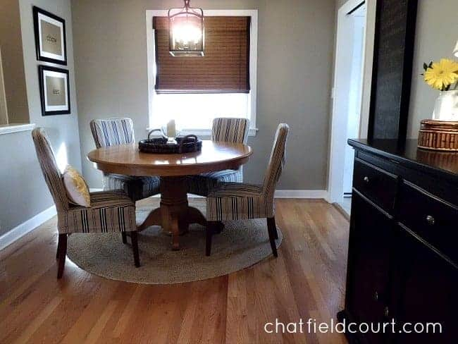 My Living/Dining/Entry Redo | chatfieldcourt.com