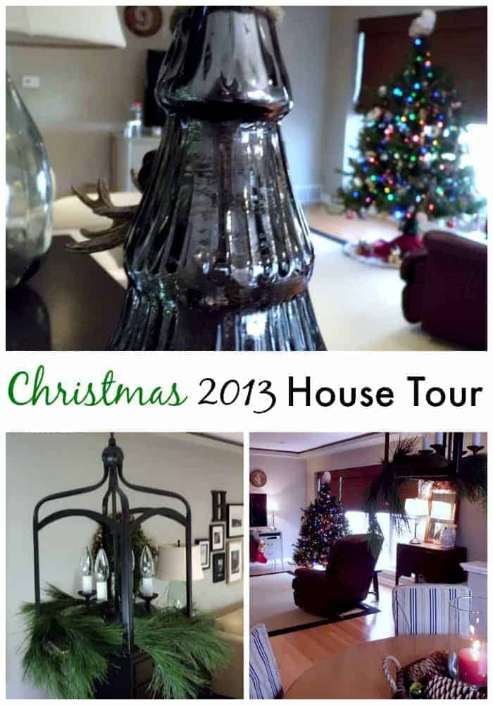 xmas house tour 2013 pinterest 2