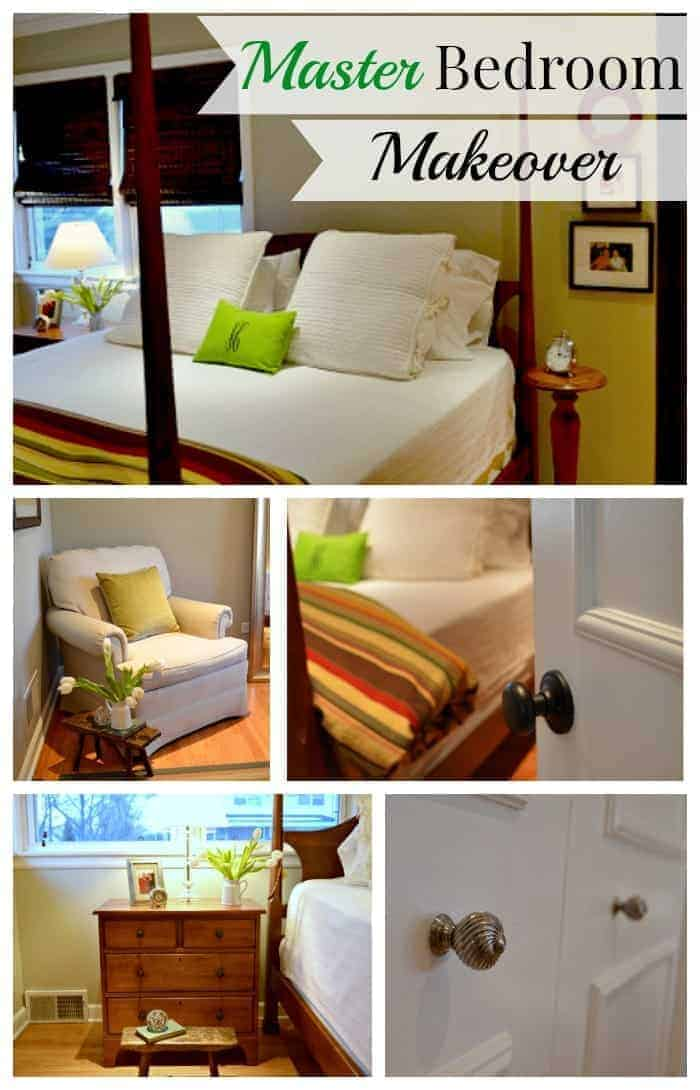 Giving a small master bedroom a makeover by adding crown molding and painting the walls, trim and ceiling. | chatfielldcourt