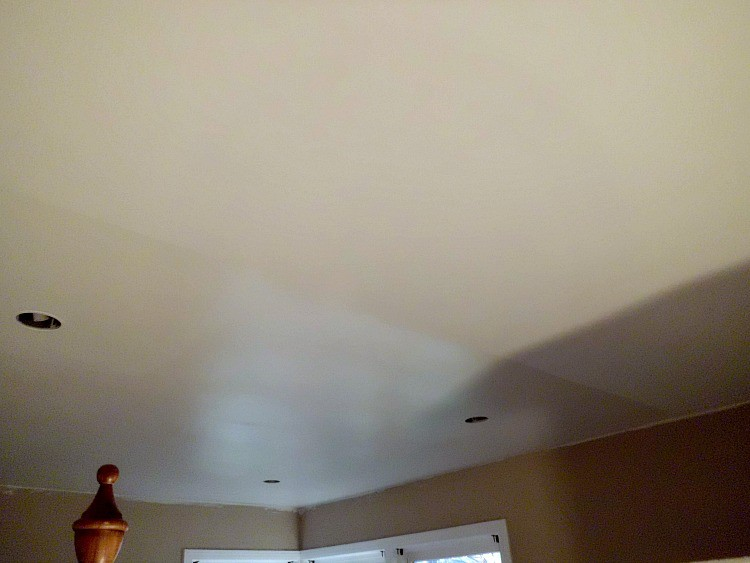 Painting The Master Bedroom Ceiling Chatfield Court
