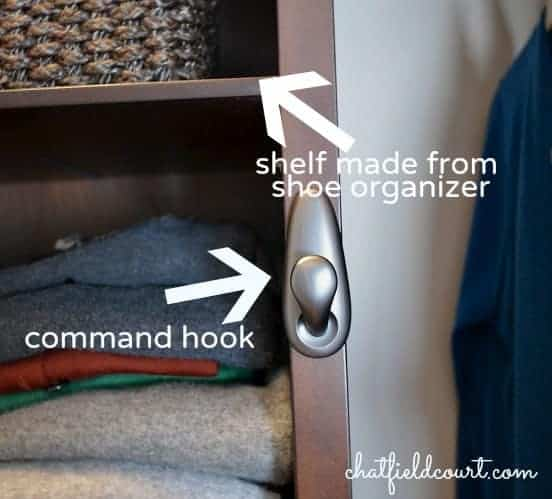 Maximizing closet storage with a store-bought kit | chatfieldcourt.com