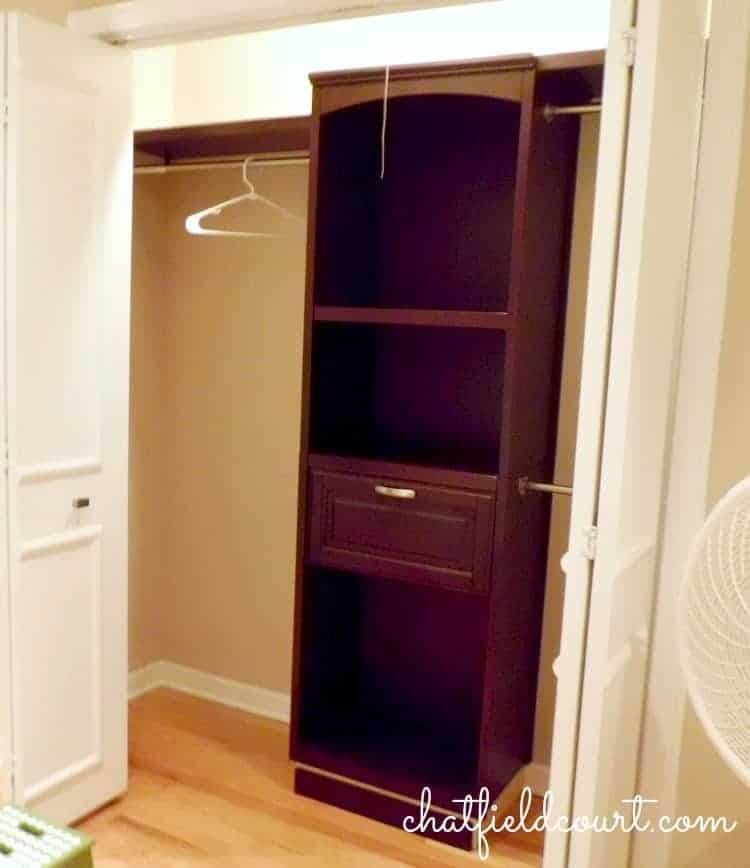Maximizing closet storage with a store-bought kit | chatfieldcourt.com
