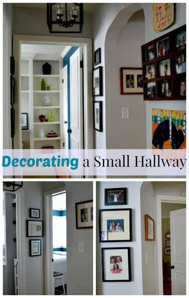 Decorating a Small Hallway | www.chatfieldcourt.com