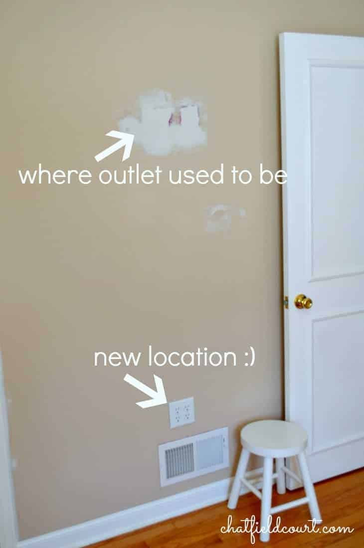 moving an electrical outlet chatfield court
