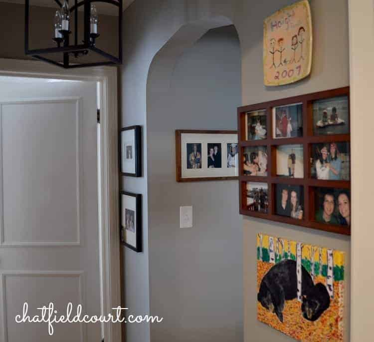 Decorating a Small Hallway | www.chatfieldcourt.com