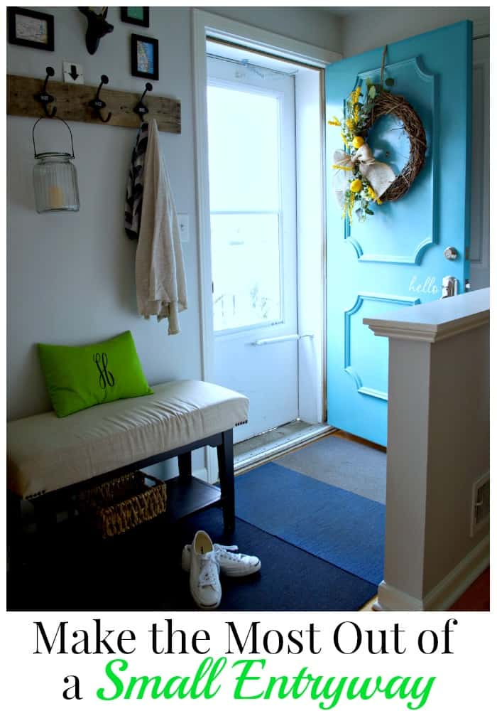 Make-The-Most-Of-A-Small-Entryway | www.chatfieldcourt.com