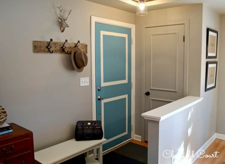 Painting a Door the Same Color as Your Walls by Chatfield Court ... & Painting a Door the Same Color as Your Walls