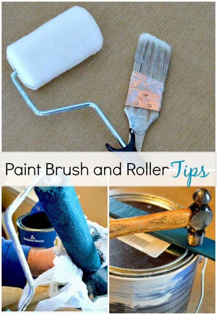 Paint Brush and Roller Cleaning Tips | www.chatfieldcourt.com