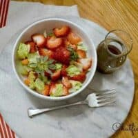 Easy Honey Balsamic Vinaigrette Recipe