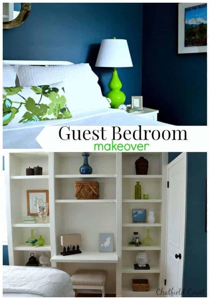 Guest Bedroom Reveal |www.chatfieldcourt.com