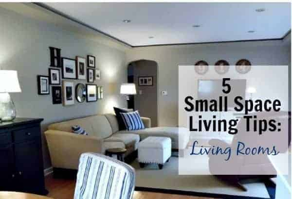 5 Decorating and Storage Tips for Small Space Living: Living Rooms