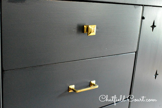 Painting A Media Cabinet | Chatfield Court.com