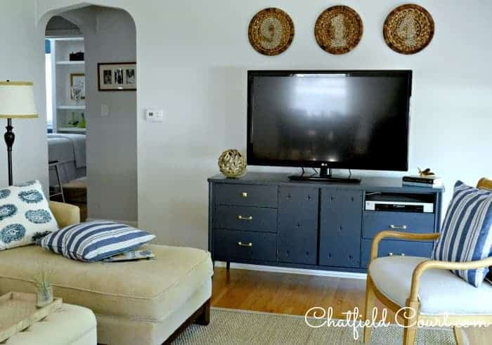Genial Painting A Media Cabinet | Chatfield Court.com