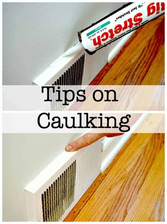 Tips on Caulking | Chatfield Court.com