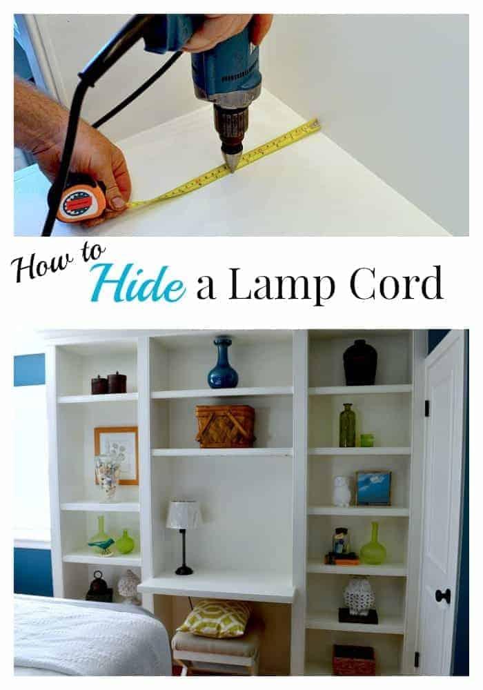 Hiding a Lamp Cord | Chatfield Court.com