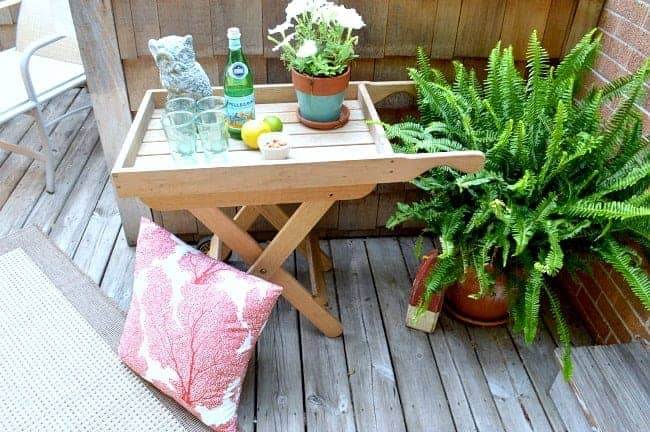 Our Back Deck and a Goodwill Find | Chatfield Court.com