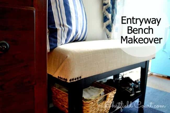Entryway Bench | chatfieldcourt.com