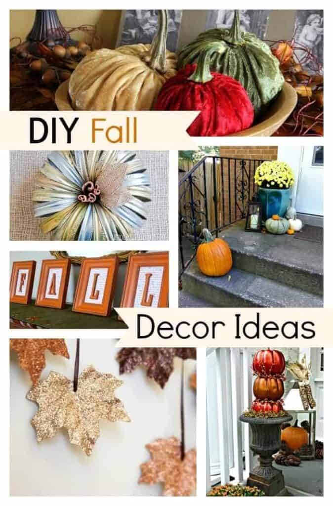 DIY Fall Decor Ideas | chatfieldcourt.com