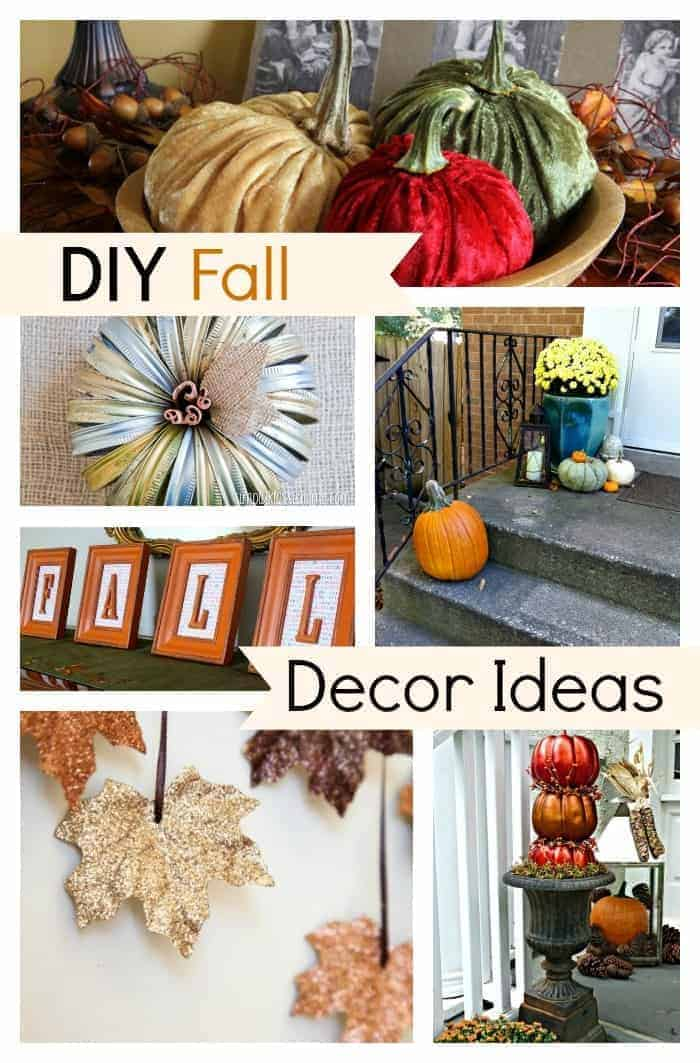 10 favorite DIY fall decor ideas for your home. chatfieldcourt.com