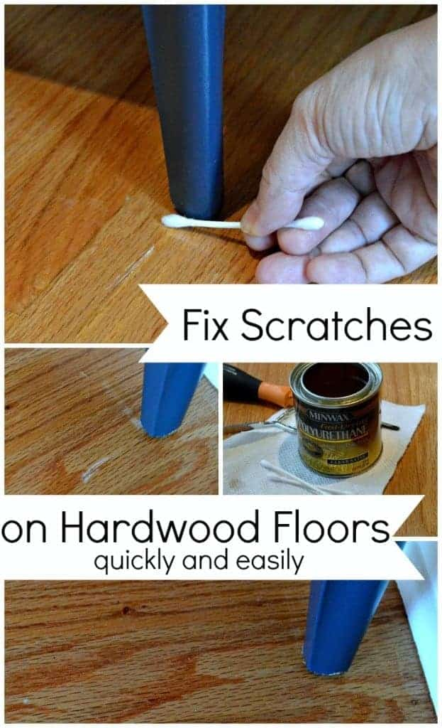 Easily Fix Scratches on Hardwood Floors | www.chatfieldcourt.com