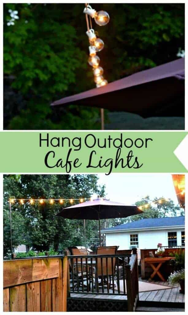Hanging Outdoor Cafe Lights | www.chatfieldcourt.com