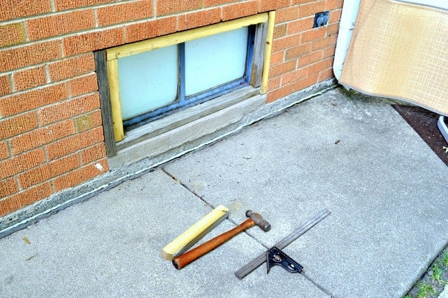 Building a Basement Window Shutter | Chatfield Court.com