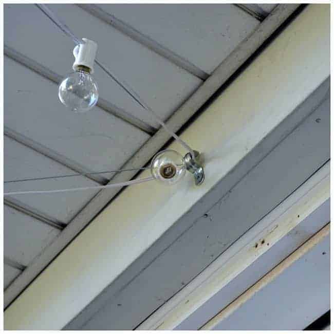 Best Way To Hang String Lights On Deck : Hanging Outdoor Cafe Lights