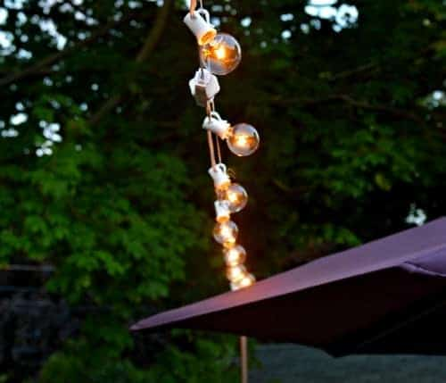 Hanging Outdoor Cafe Lights | Chatfield Court.com ...