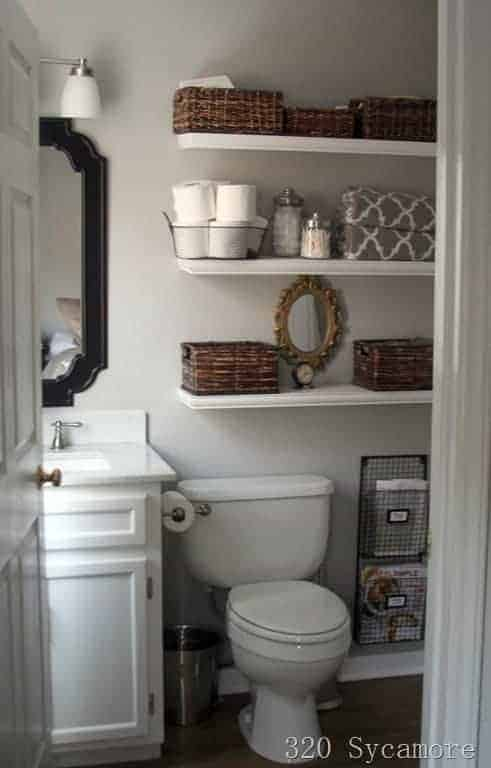 5 Tips For Making The Most Of Storage Space In Small Bathrooms |  Www.chatfieldcourt ...