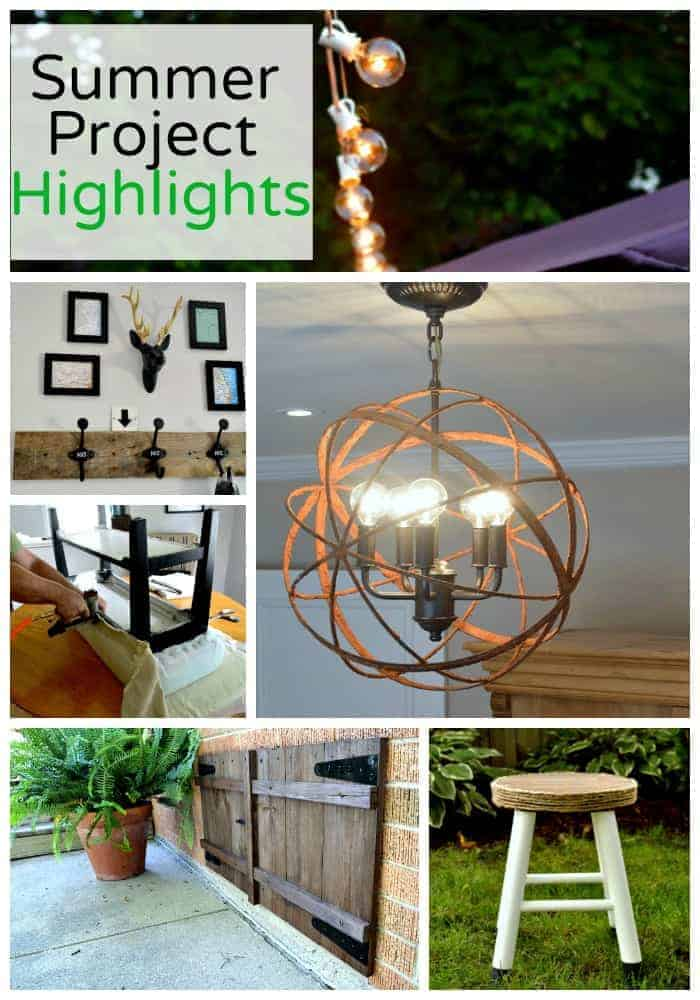 Summer Project Highlights | www.chatfieldcourt.com