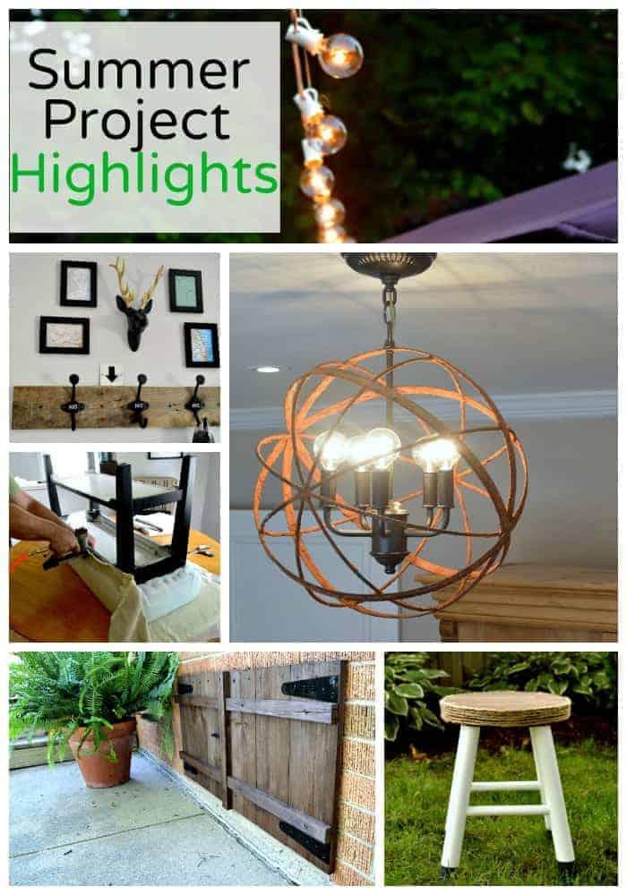 Summer Project Highlights | www.chatfieldcourt.com