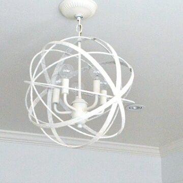 A DIY light fixture