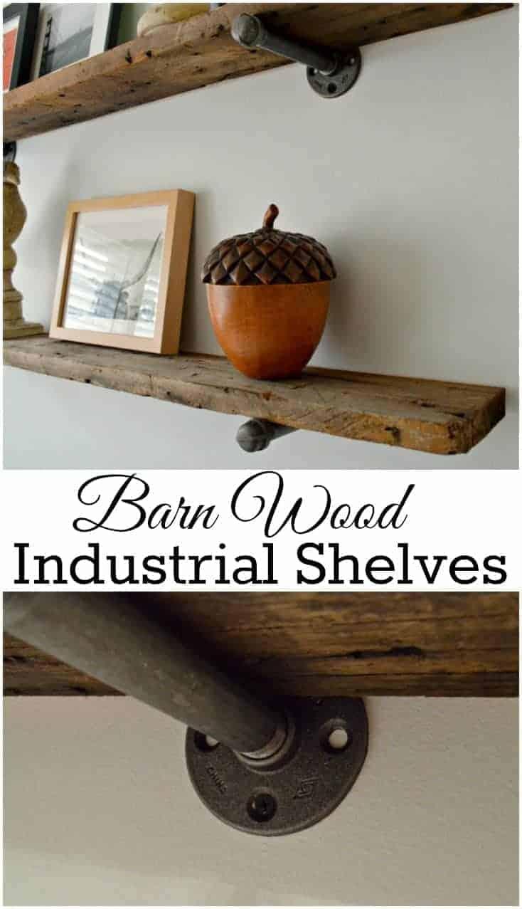 barn wood shelves pinterest 4