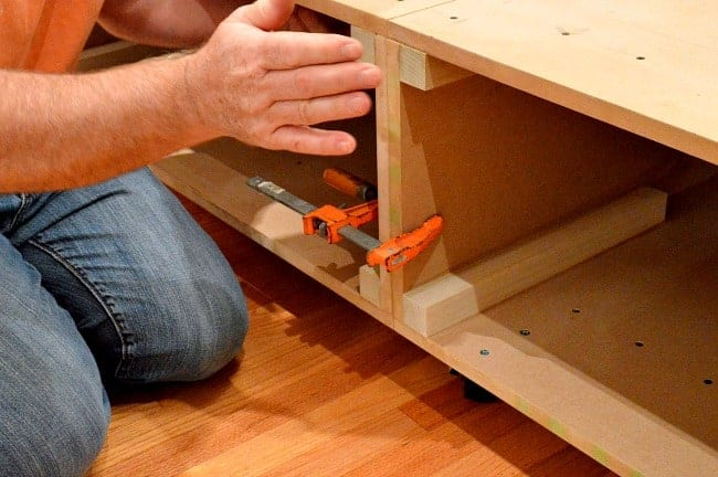 DIY platform bed | chatfieldcourt.com