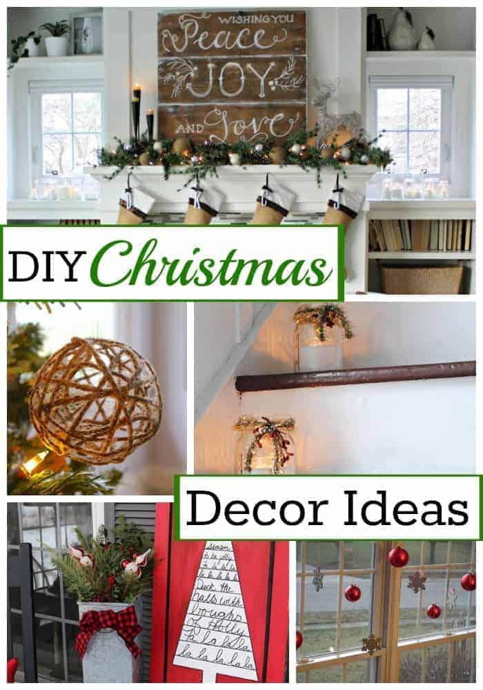 10 DIY Christmas Decor Ideas | chatfieldcourt.com