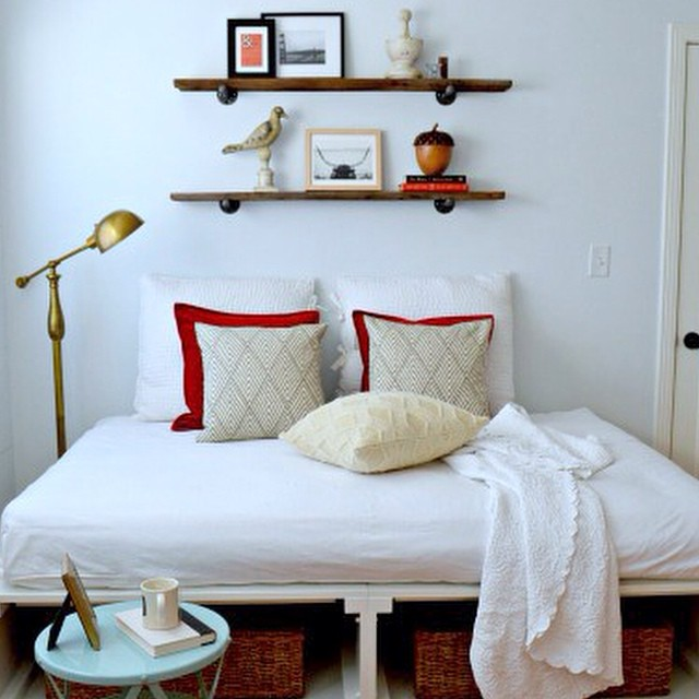 Guest bedroom reveal today #ontheblog. #linkinprofile #decor #diy