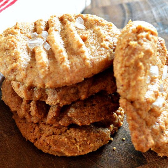 My first time #baking #glutenfree peanut butter #cookies. So good...you would never know they are gluten free.