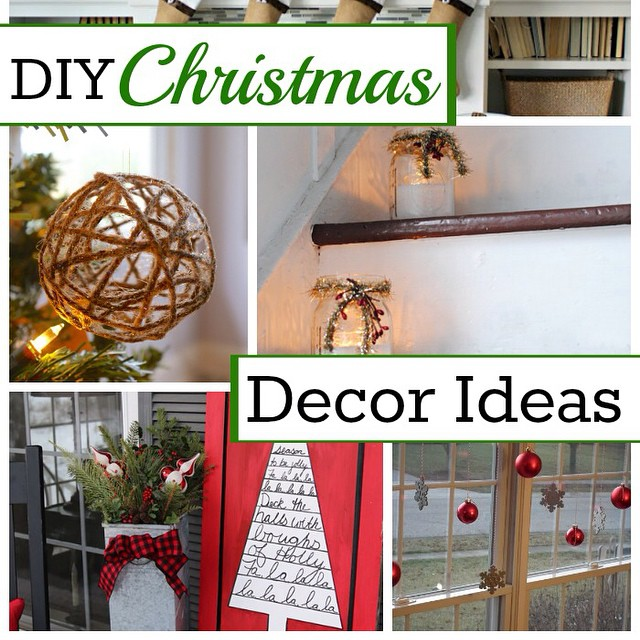 Have you started decorating for Christmas yet? I'm sharing 10 inspiring DIY Christmas decor ideas to help you out. #ontheblog #linkinprofile #diy #decor #chatfieldcourt #christmas