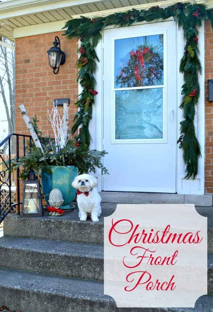 Christmas Front Porch | www.chatfieldcourt.com