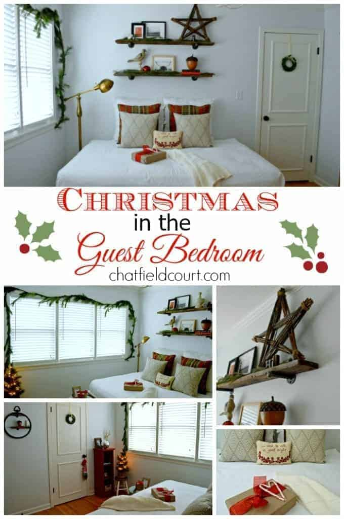Christmas guest bedroom 2014 pinterest 4