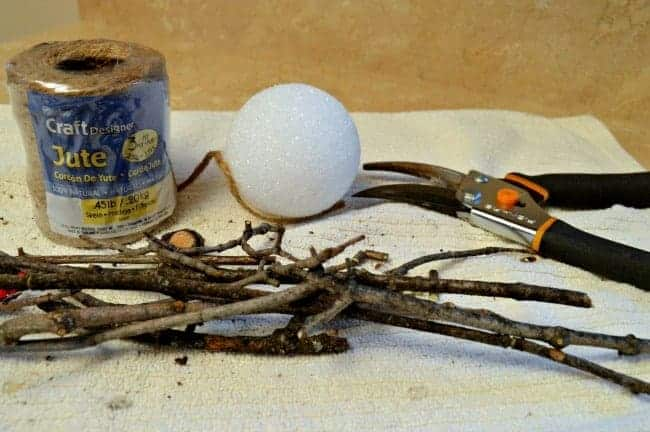 stick ornament