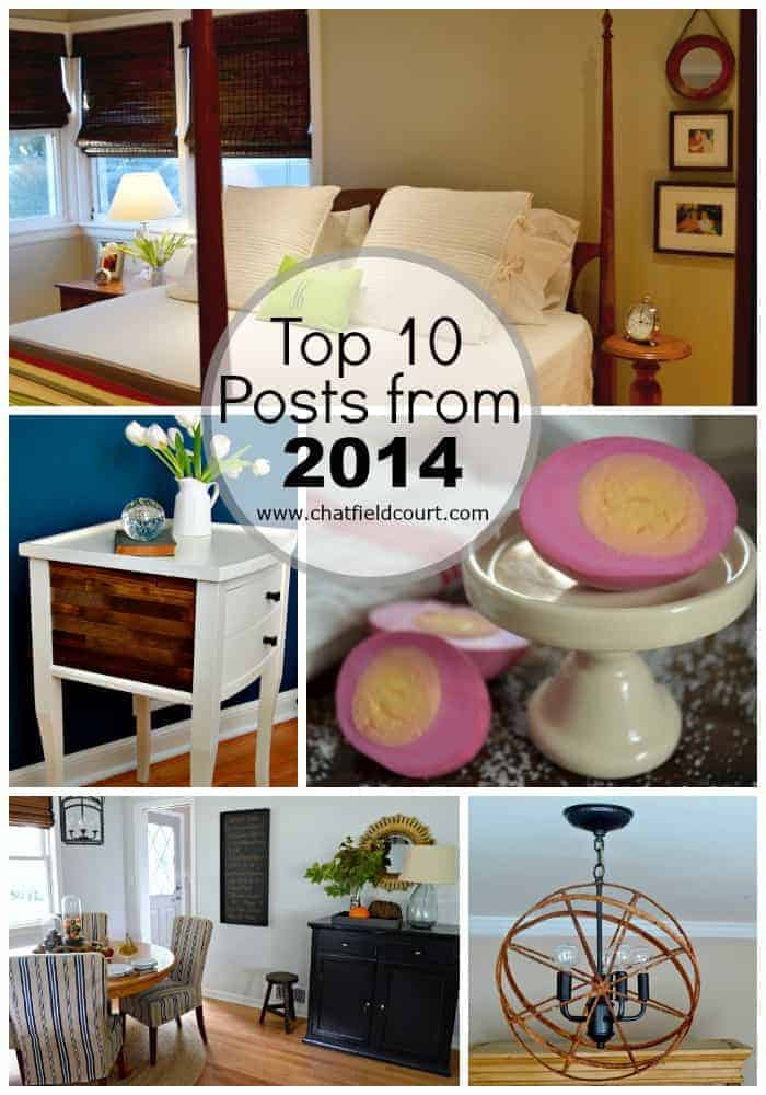 Top Posts of 2014 | www.chatfieldcourt.com