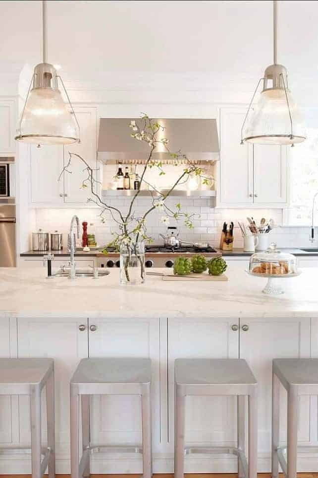Best White Paint Color for Kitchen Cabinets   Chatfield Court